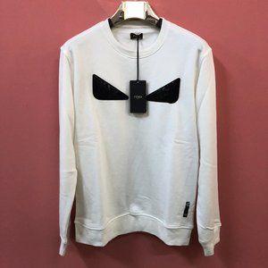 Fendi Monster Eye White Sweatshirt